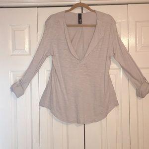 Bobi light gray top